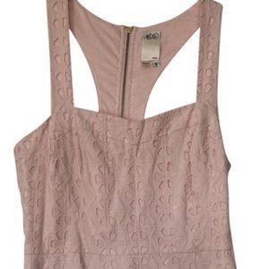 Ali Ro shell pink eyelet dress